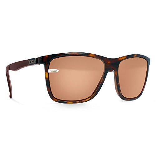 Gloryfy Unbreakable Eyewear gi15St. Pauli Havanna Shiny Lunettes de Soleil Gloryfy, Brown, L