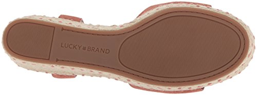 Lucky Brand Vrouwen Lk-naveah3 Espadrille Wig Sandaal Canyon Rose