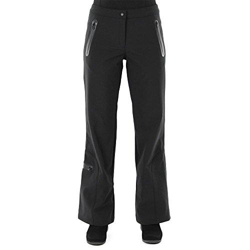AFRC Soft Shell Stretch Ski Pant for Ladies (6 Petite, Black) by AFRC Skiwear
