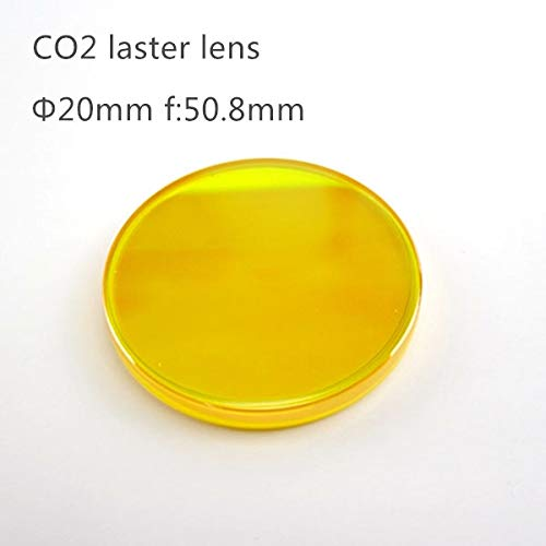AEEDAIRY Laser Lens 20 mm Diameter 50.8mm Focus Length Focus Lens for Engraving Machine Cutting Machine # USA ZnSe CO2 20mm 50.8mm 1pcs