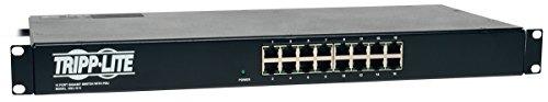 Tripp Lite 16 Port Gigabit Ethernet Switch with 8 Outlet PDU 1U (NSU-G16) (Lite Switch Auto Tripp)