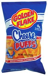 Golden Flake Cheese Puffs 6oz Bag (Pack of (Potato Puffs)