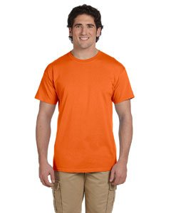 Hanes Premium Tagless T's in Orange - - In Orange Outlets