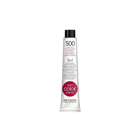 Tubo Nutri color creme 500rojo púrpura Revlon 50ml