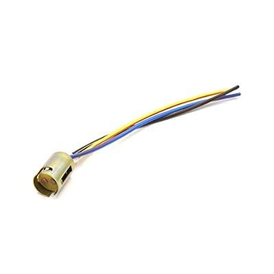 uxcell 2pcs 3 Wire 1157 LED Brake Stop Light Bulb Car Extension Socket Holder Connecter: Automotive