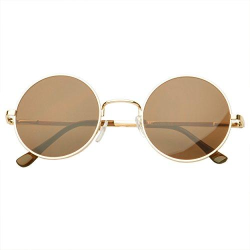 MLC EYEWEAR ® Vintage John Lennon Inspired Round Sunglasses Classic Tinted Lens - Boots Ray Bans