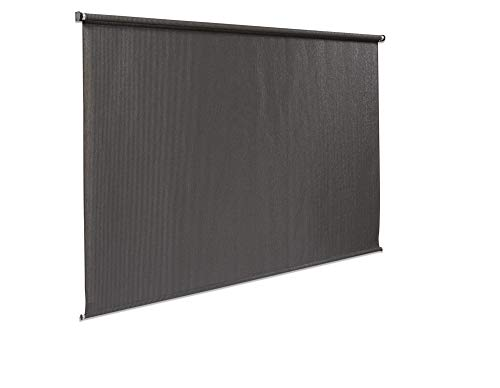 Coolaroo 448905 Cordless Outdoor Roller Shade with 95% UV Protection, Montecito