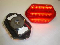 LED Safety Flashers-- Red