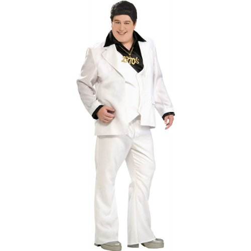 Disco Fever Adult Costume - Plus Size