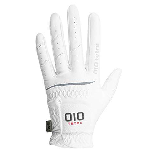 Light Five Tetra - OIO Tetra Men's Golf Gloves (Left) PANA Tetra Patented, Non-Slip Material, Spider Grip, Rain Grip, Long Lasting (Large (25))