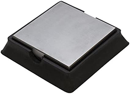 2 x 2 x 1 Jewelers Making Metal Forming Rubber Bench Tool Dapping Block Stamping Work Surface