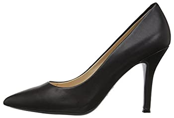 Nine West Women's Fifth9x Fifth Pointy Toe Pumps, Black Calf Leather - 8 B(m) Us 4