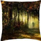 Human in the deep - Throw Pillow Cover Case (18