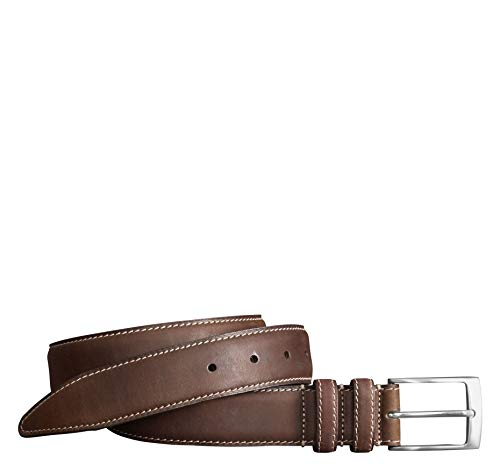 Johnston & Murphy Men's Distressed Casual Belt Brown 34 US ()