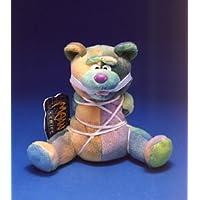 1 X LEED THE BEAR * MEANIES * Serie 3 * Peluche con forma de bolsa de frijoles de The Idea Factory