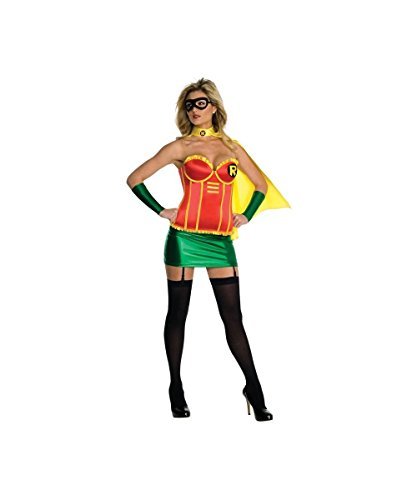 Sexy Female Robin Costumes - Sexy Robin Womans Costume deluxe Batmans Sidekick Batgirl Heroine