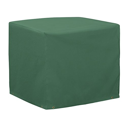 Classic Accessories 52-132-011101-11 Atrium Square Air Conditioner Cover, Green