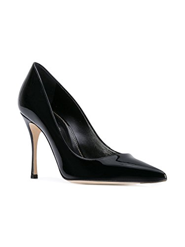 discount many kinds of Sergio Rossi Women's A43843MVIV011000 Black Leather Pumps buy cheap find great prices for sale clearance new 08Ufi