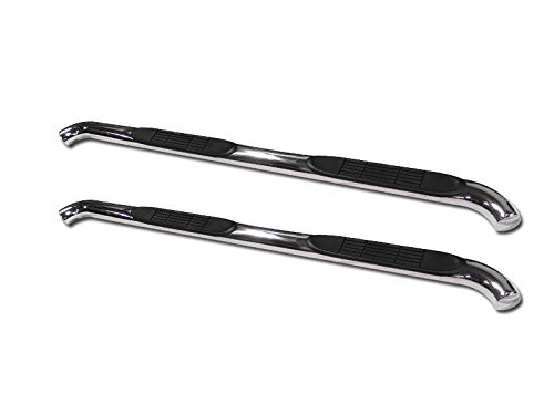 "HS Power 3"" Chrome Side Step Nerf Bars Rail Running Boards 05-15 for Toyota Tacoma Access Cab"