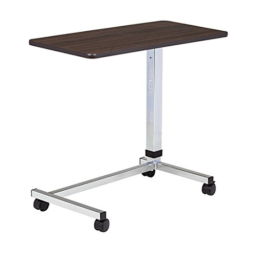 Clinton U-Base Over Bed Table, Walnut by Clinton