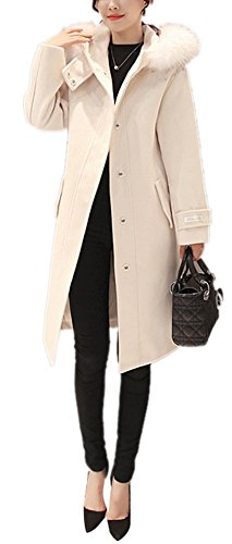 hooded dress coat - 4
