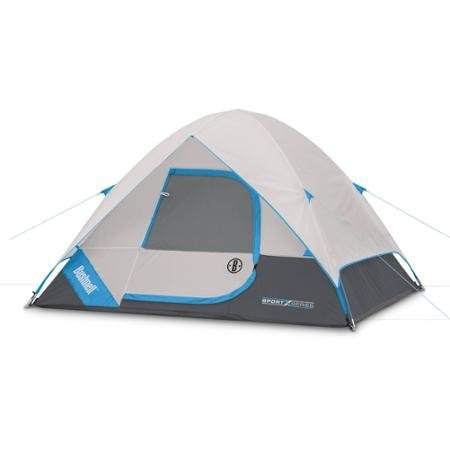Bushnell Sport Series 8' x 7' Dome Tent, Sleeps 4. Includes Carry Bag and Tent Stakes (Sport Dome Tent)