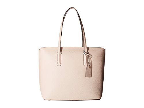 Kate Spade New York Women's Margaux Large Tote, Pale Vellum, Pink, One Size