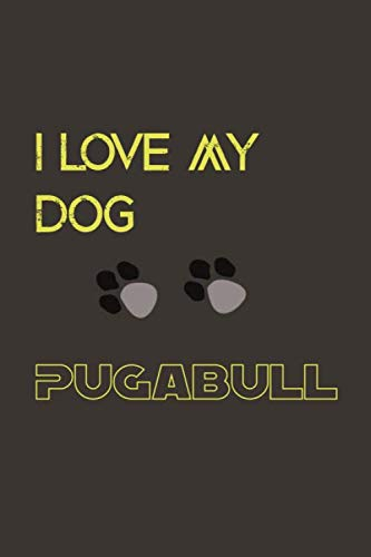 My dog ---- pugabull: Lined Notebook / Journal Gift, 110 Pages, 6x9, Soft Cover, Matte Finish 1
