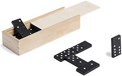 Vidal Regalos Juego de Mesa Domino Fichas Negras 15x5 cm: Amazon.es: Hogar