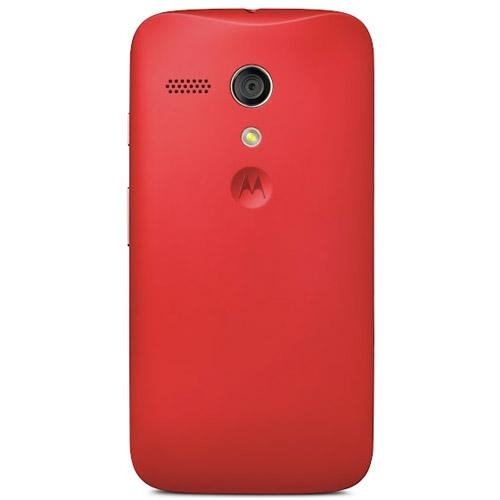 Motorola Shell for Moto G - Retail Packaging - Vivid Red