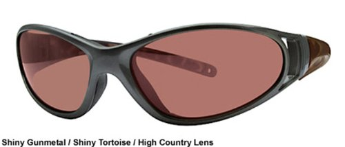 Rec Specs Sunglasses-- Journey - Shiny Gunmetal/ Driver Seat Methane Mirror