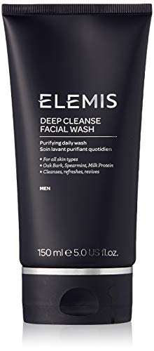 ELEMIS Deep Cleanse Facial Wash - Purifying Daily Wash for Men, 5.0 fl. oz (Best Professional Facial Products)