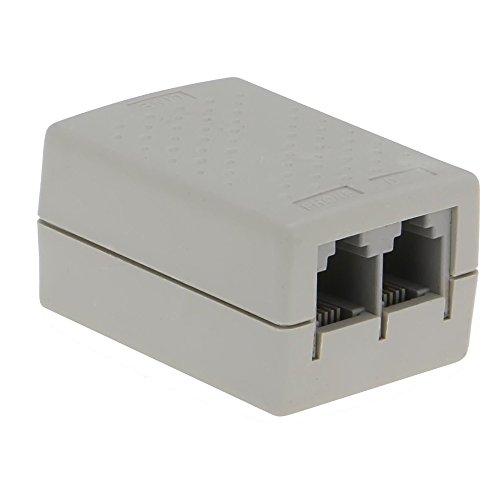 SEDNA - SE-ADSL-SPL-01 Telephone RJ11 Line ADSL Modem Filter/Splitter with surge protector