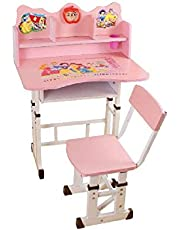 Educational Study Table For Kids With Chair And Clock