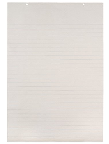 (School Smart Picture Story Chart Pad, 1 Inch Rule, 24 x 36 Inches, White)