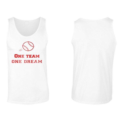 Ein Team Ein Traum Baseball Herren Tank top n609mt