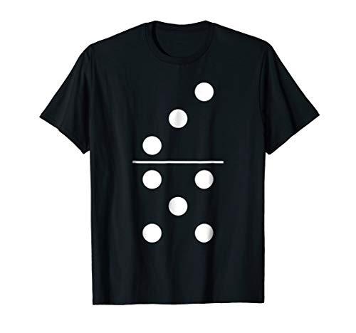 Domino Game 5 3 Funny Halloween Group Costume Shirt -