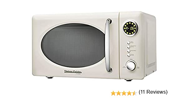 Microondas sin grill 700W 18,5L Vintage Cuisine by CooKing (Cream ...