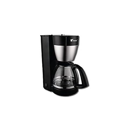 Cafetera electrica 1,40 litros para 10-12 tazas 800w filtro ...