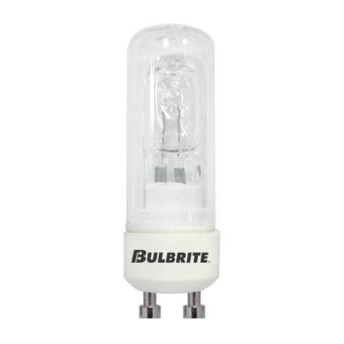 Bulbrite 860643 50 W Dimmable DJD Shape Twist /& Lock Bi-Pin Halogen Bulb GU10 5 Pack Clear Base