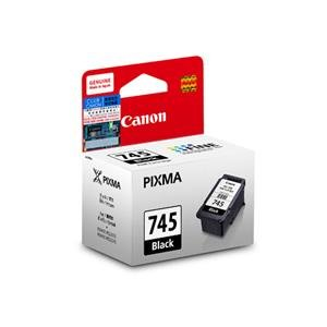 Canon PG-745 Ink Cartridge with Print Head - Black Ink