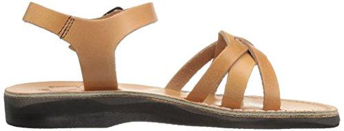Tan Women's Flat Jerusalem Sandals Miriam 7q4Favw