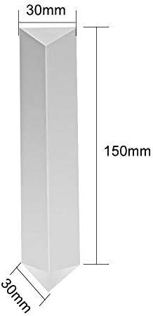 CODIRATO Prisma Cristal Triangular 15cm Vidrio K9 Cristal Prisma ...