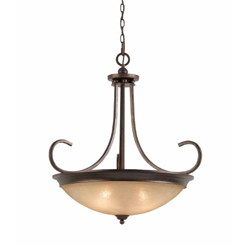 (Triarch 31402-27 4 Light Costa Large Pendant Light, English)