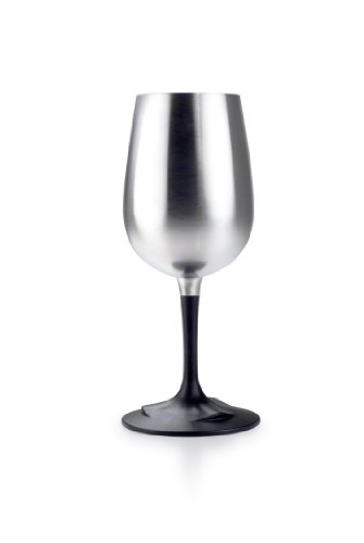 GSI Outdoors 63305 Stainless Steel Glacier Nesting Wine Glass