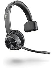 Poly Voyager 4310 UC draadloze headset (Plantronics) - single-ear headset met Boom Mic - Verbind met PC/Mac via USB-A Bluetooth-adapter, mobiele telefoon via Bluetooth - Werkt met teams, zoom & meer