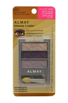 Almay Intense i, Color Eye Shadow Trio Brown Eyes (021)