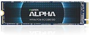 Mushkin Alpha – 4TB PCIe Gen3 x4 NVMe 1.3 – M.2 (2280) Internal Solid State Drive (SSD) – 3-D QLC - (MKNSSDAL4TB-D8)