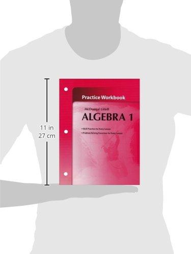 Amazon.com: McDougal Littel Algebra 1: Practice Workbook (Holt ...