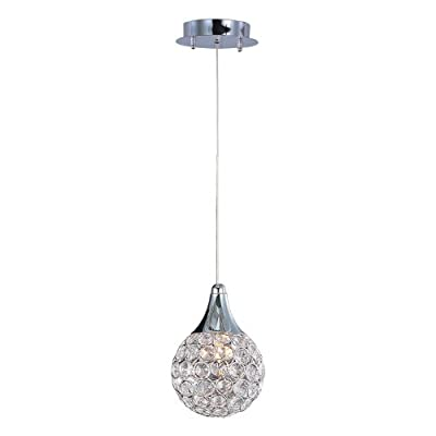 ET2 Lighting E24023-20PC Brilliant Mini Pendant Light